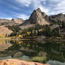 Lake Blanche, Utah, USA